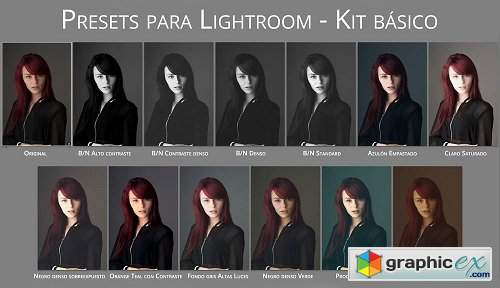 Antonio Garci - Kit basico Lightroom Presets