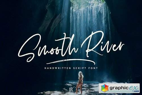 Smooth River Font Family
