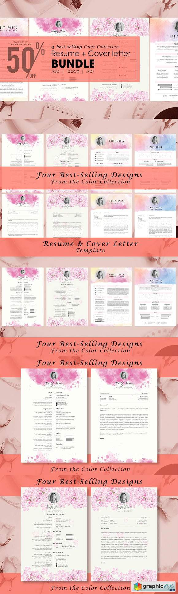 Resume Color Bundle