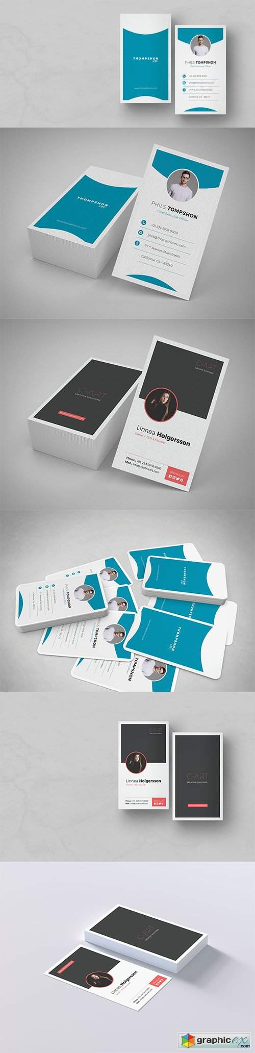 CodeSter - Professional Business Card Vol 02