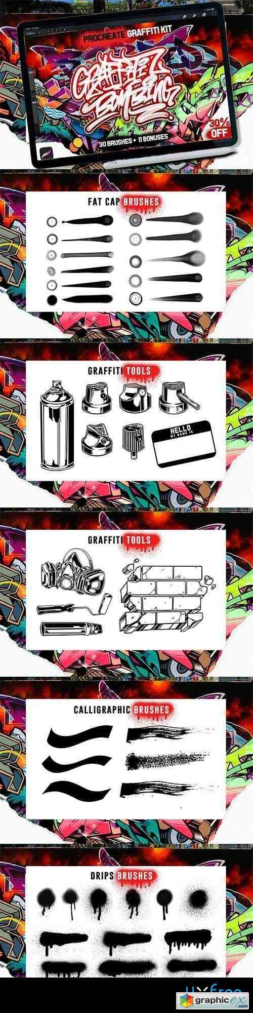 PROCREATE GRAFFITI BOMBING
