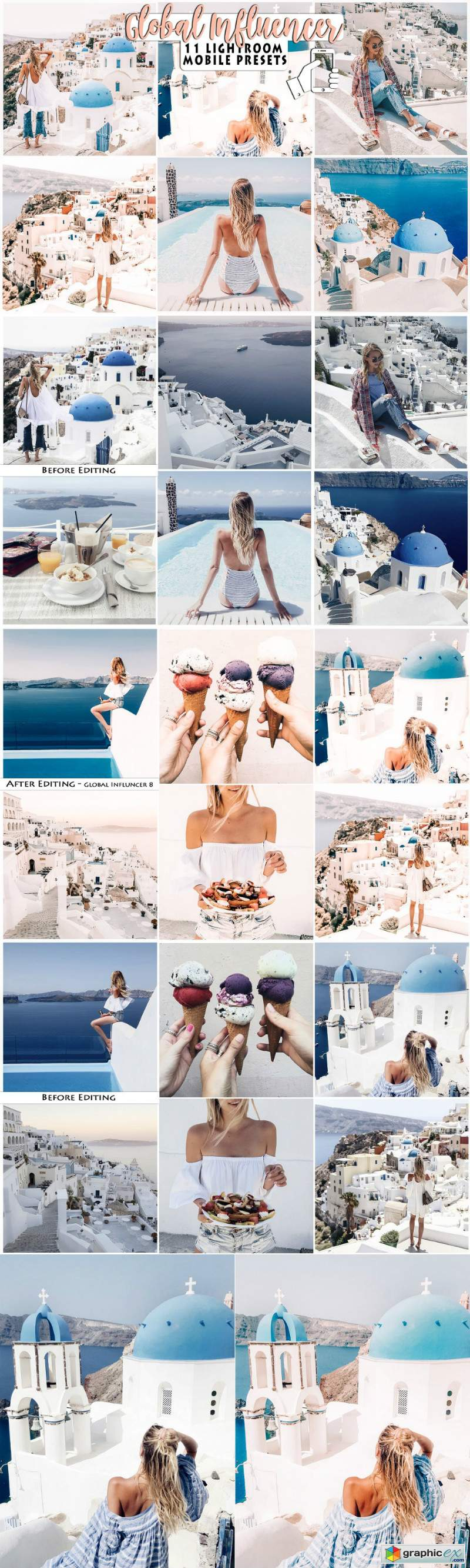 Blogger Influencer Lightroom Presets