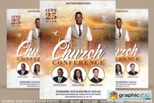 Church Conference Flyer Poster 3370849