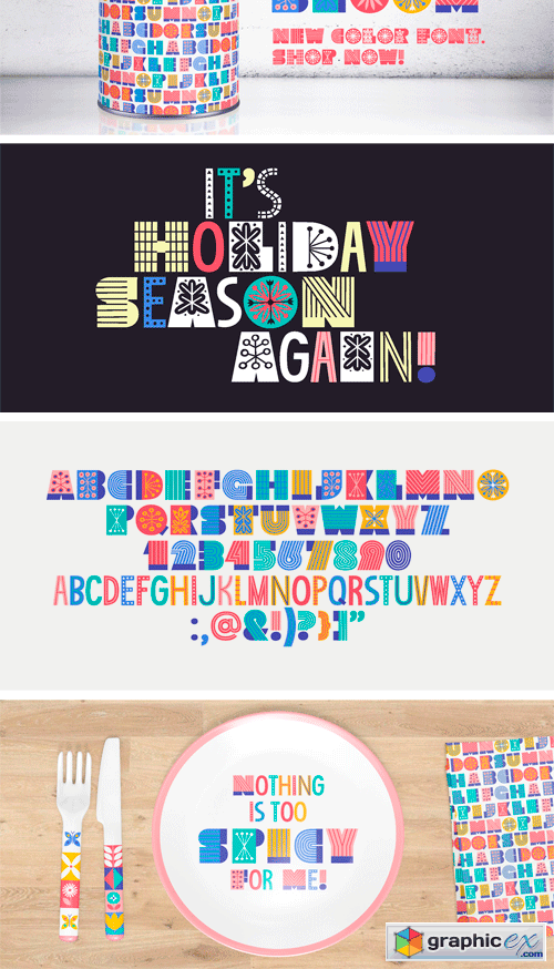 Wild Bloom Font Family