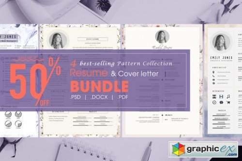 Resume CV Pattern Bundle