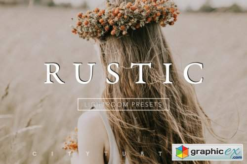 Desktop & Mobile Subtle Film RUSTIC Lightroom Presets Collection