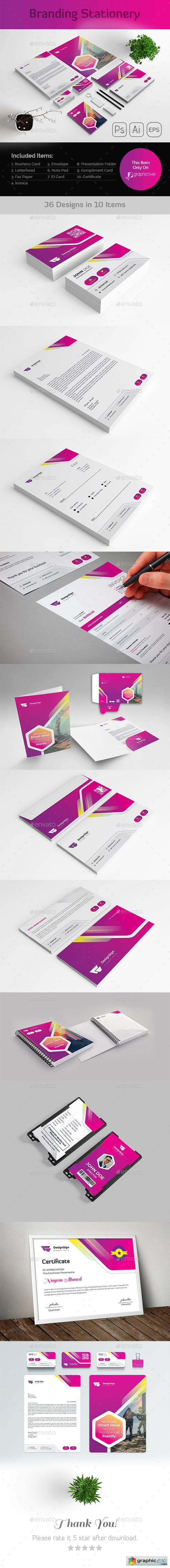 Branding Stationery Template