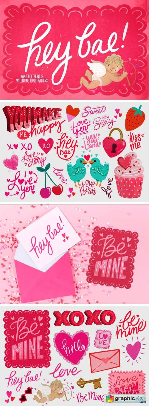 Hey Bae - Valentine Collection