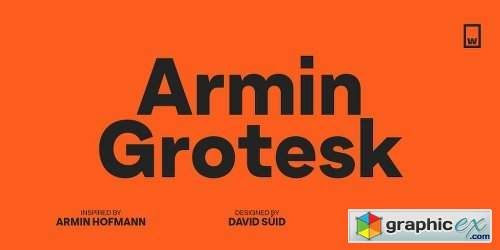 Armin Grotesk Font Family - 14 Fonts » Free Download Vector
