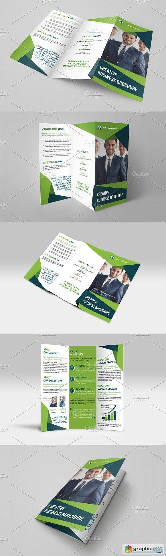 Trifold Business Brochure V824