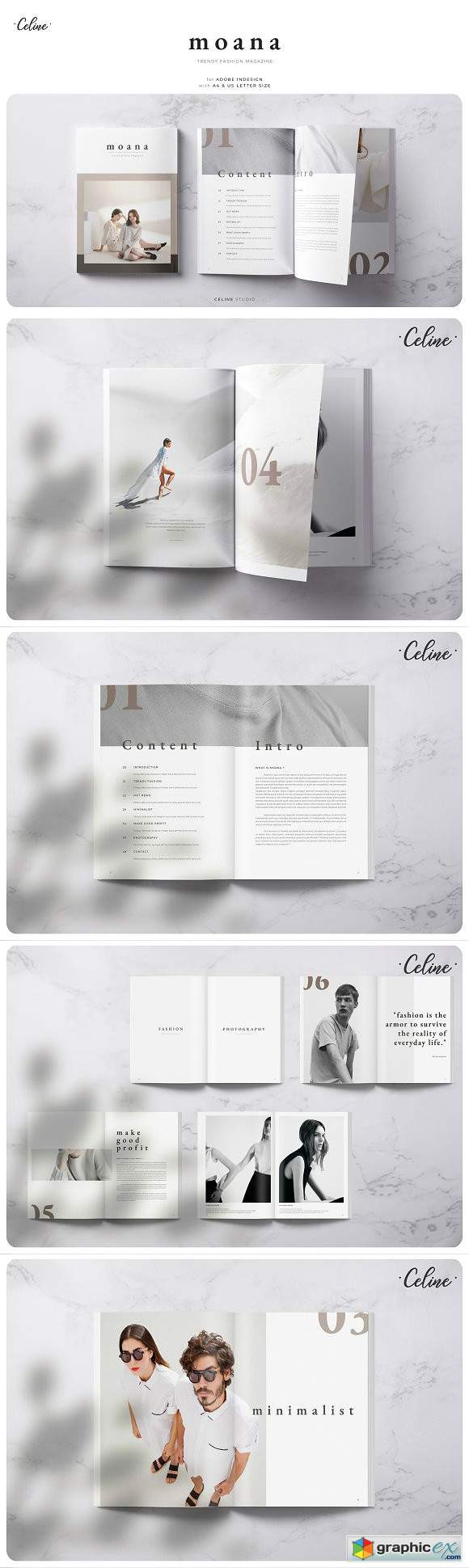 Moana - Fashion Magazine Template