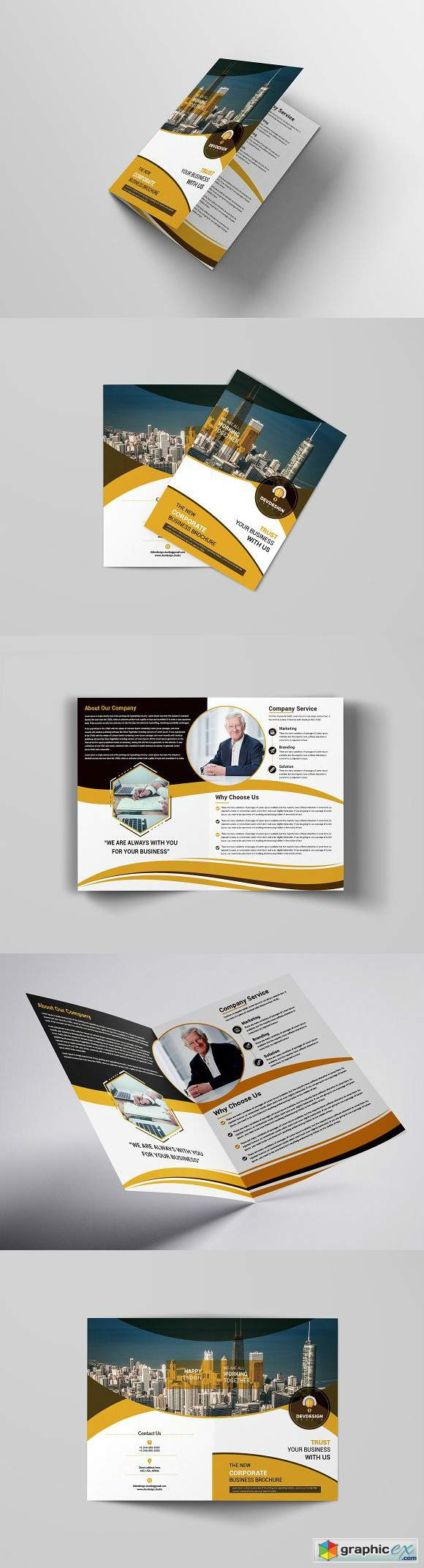 Corporate Brochure Design 3217590