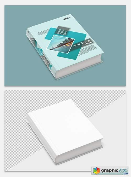 Book Cover Mockup 247662641