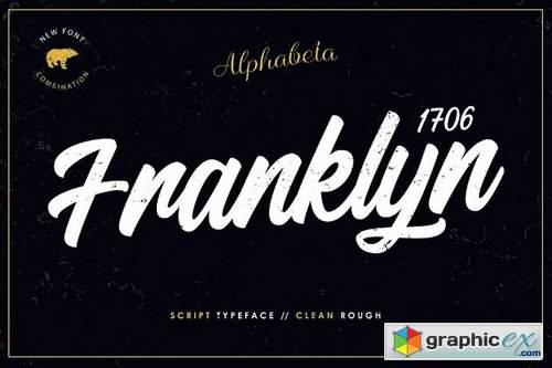 Franklyn 1706 Font