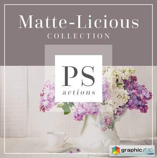 Bellevue Avenue - The Matte-Licious Photoshop Actions