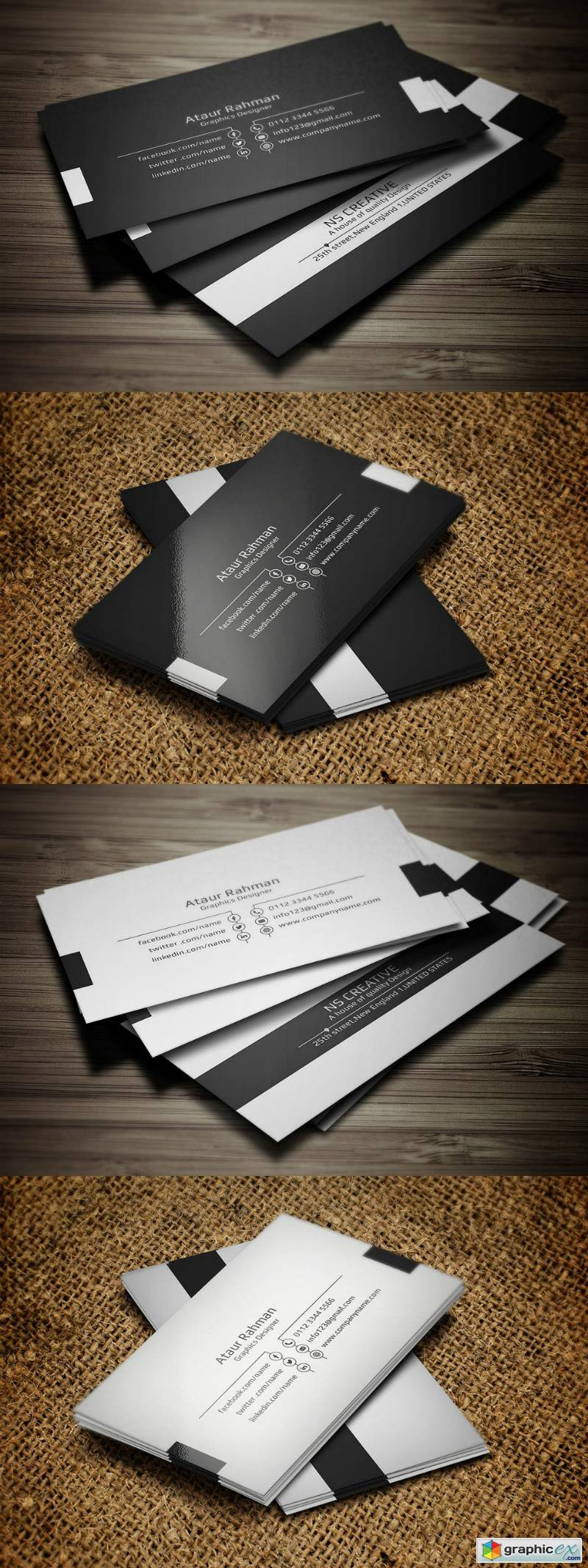 Minimal Business Card 3379626