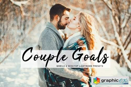 Couple Goals Mobile & Desktop Lightroom Presets