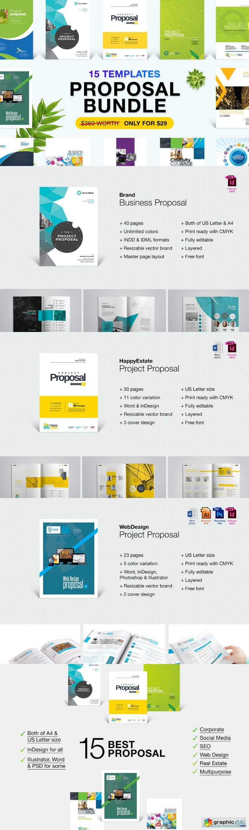 Business Proposal Bundle 15 in 1