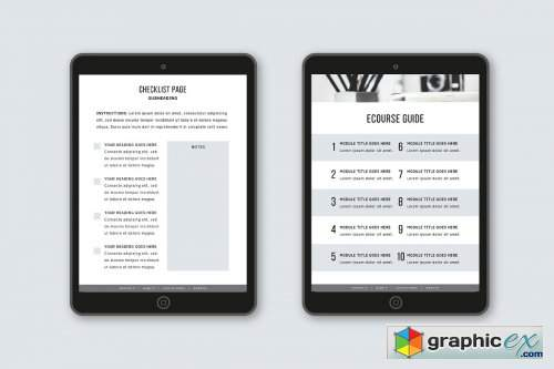 eCourse Workbook Template