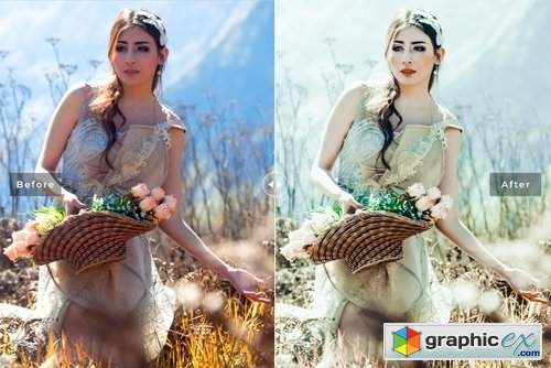 Fantasy Mobile & Desktop Lightroom Presets Pack