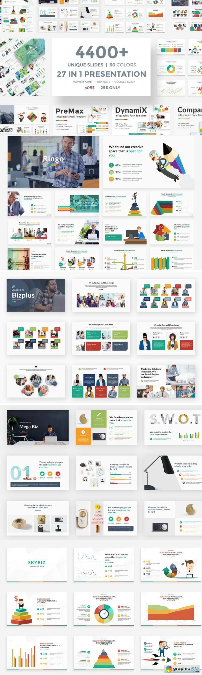 27 in 1 Presentation Bundle