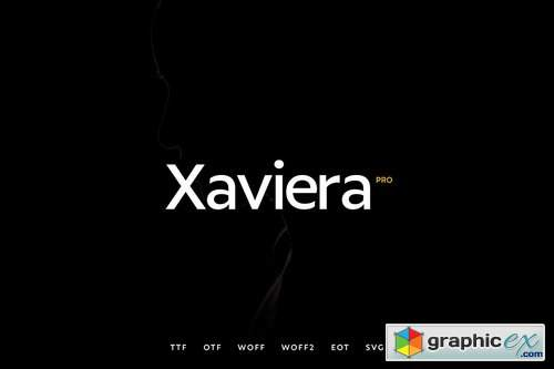 Xaviera - Modern Typeface + WebFonts » Free Download Vector Stock