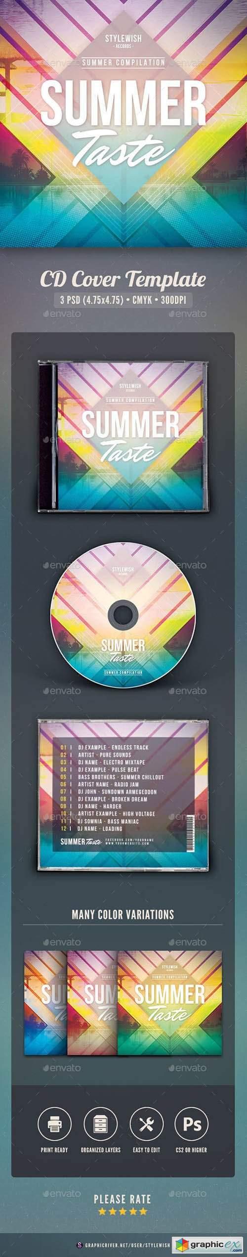 Summer Taste CD Cover Artwork