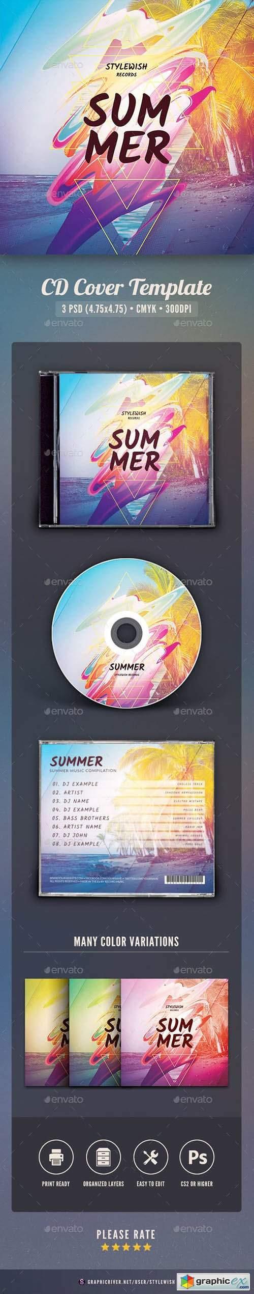 Summer CD Cover Artwork 23466149