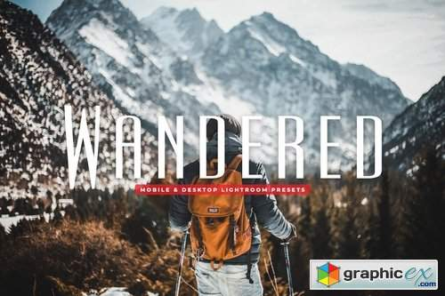 Wandered Mobile & Desktop Lightroom Presets