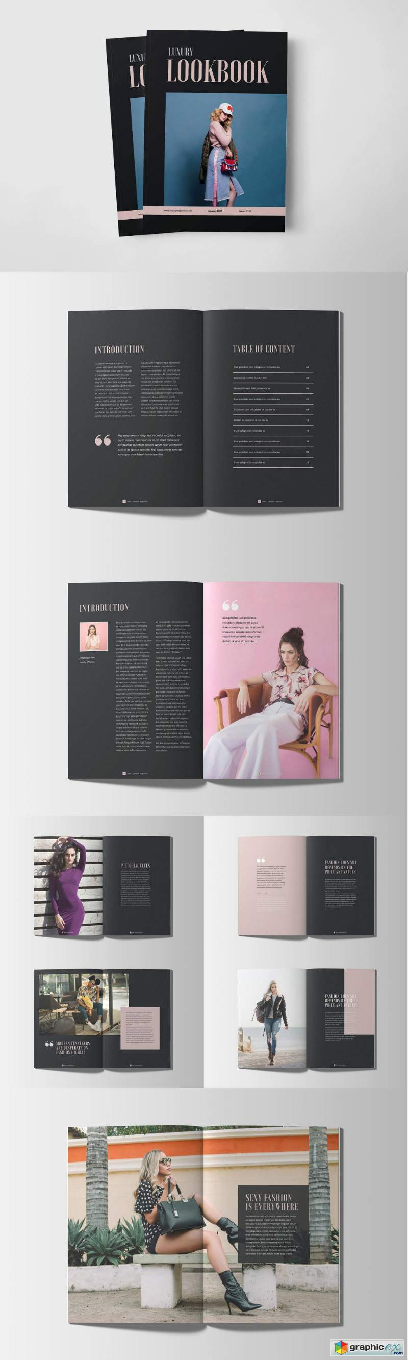Luxury Lookbook Magazine
