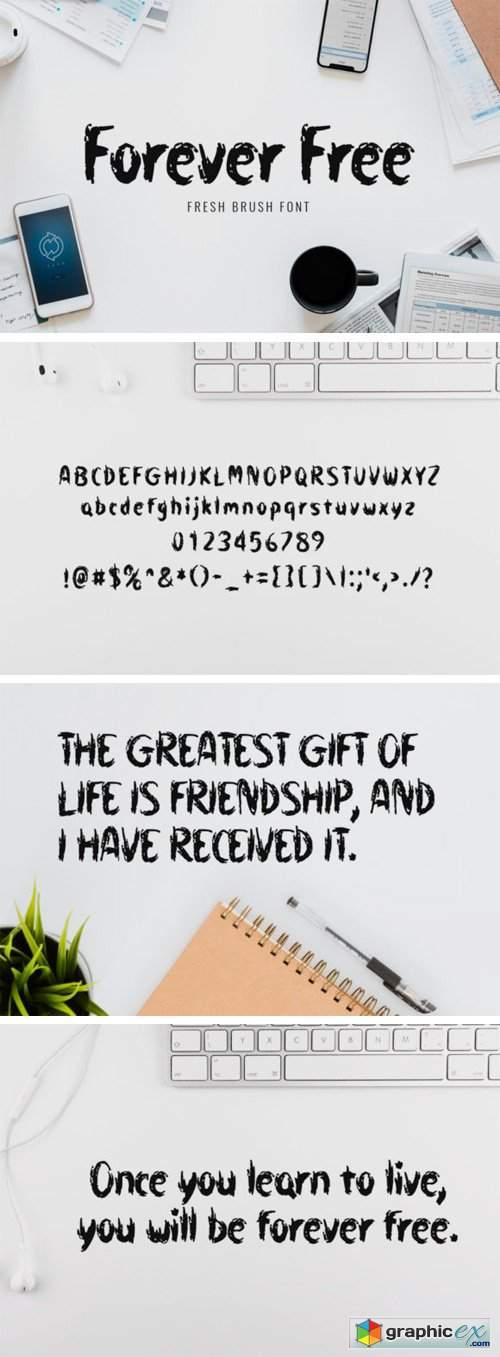 Forever Free Font