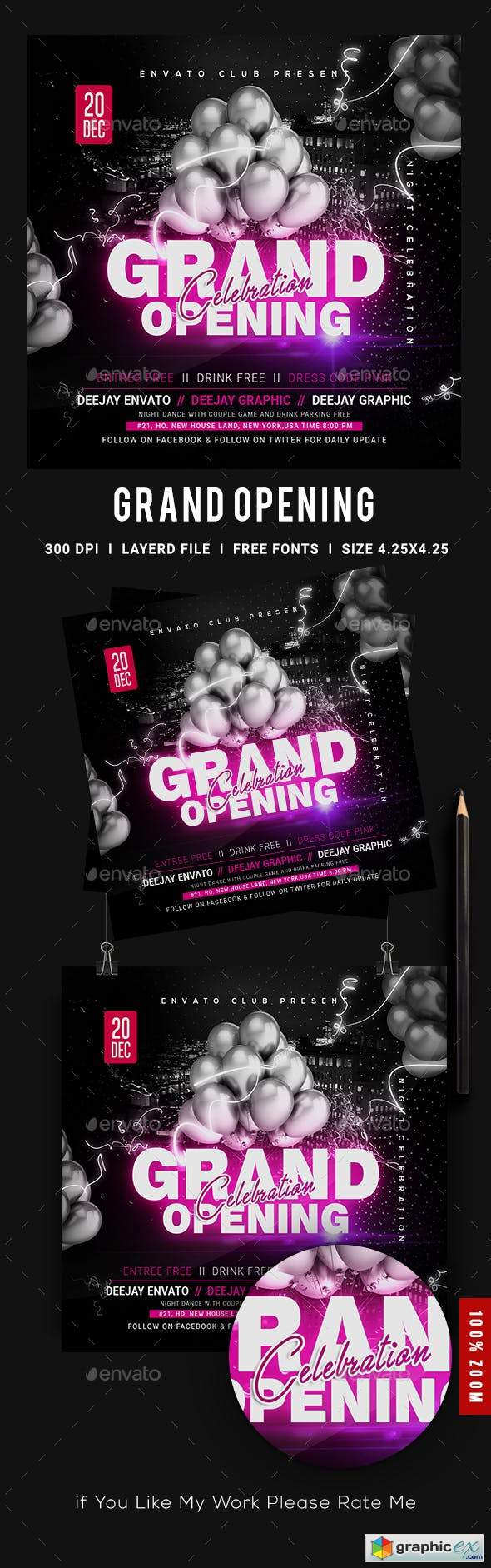 Grand Opening Flyer 23563264