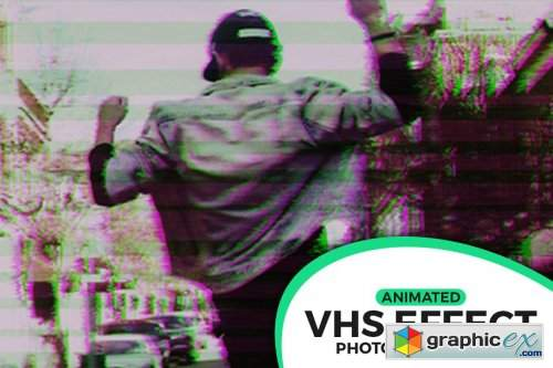 Animated VHS Effect Action » Free Download Vector Stock Image
