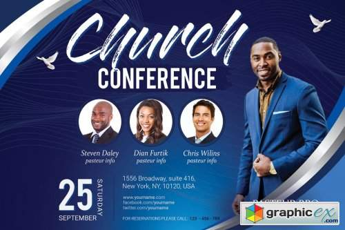Church Conference Flyer 3717488