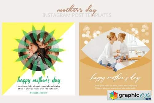Mother's Day Instagram Templates
