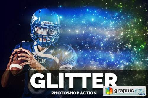 Glitter Photoshop Action