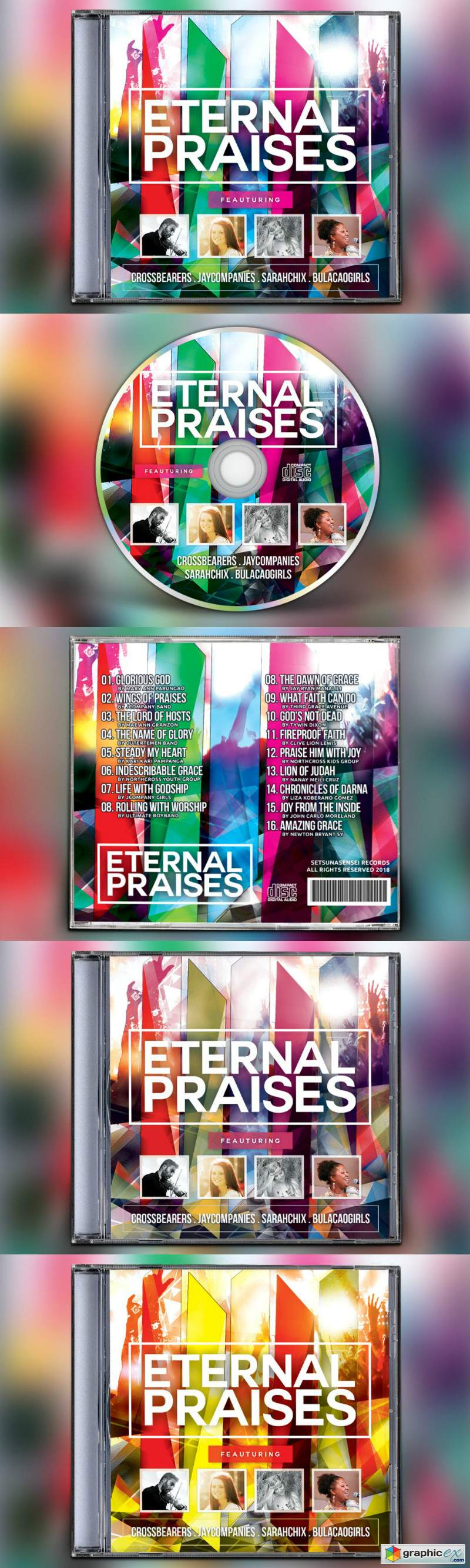 Eternal Praises CD Album Artwork