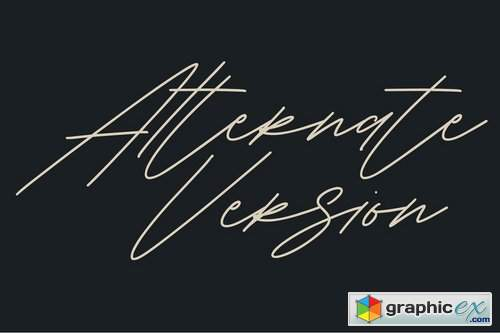 Shaloems Handwritten Signature Font