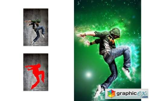 Galaxy Art Photoshop Action