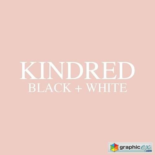Kindred Black & White Lightroom Presets » Free Download