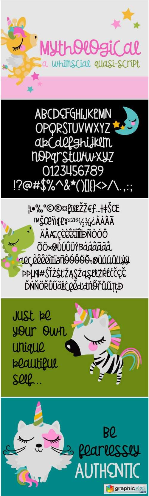 Mythological Font