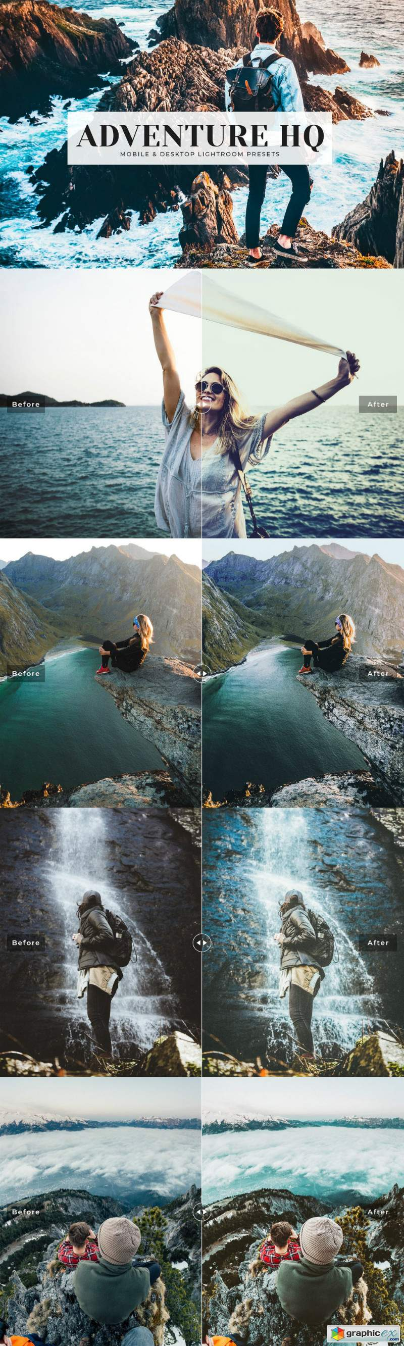 Adventure HQ Lightroom Presets Pack