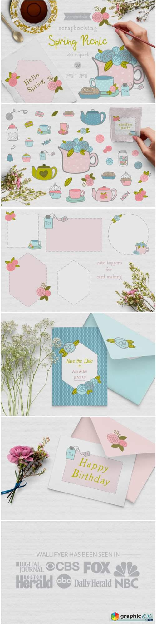 Shabby Chic Clipart