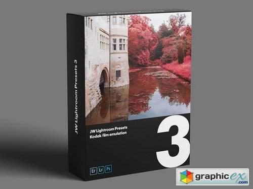 JW Lightroom Presets 3 — Kodak stock emulation » Free