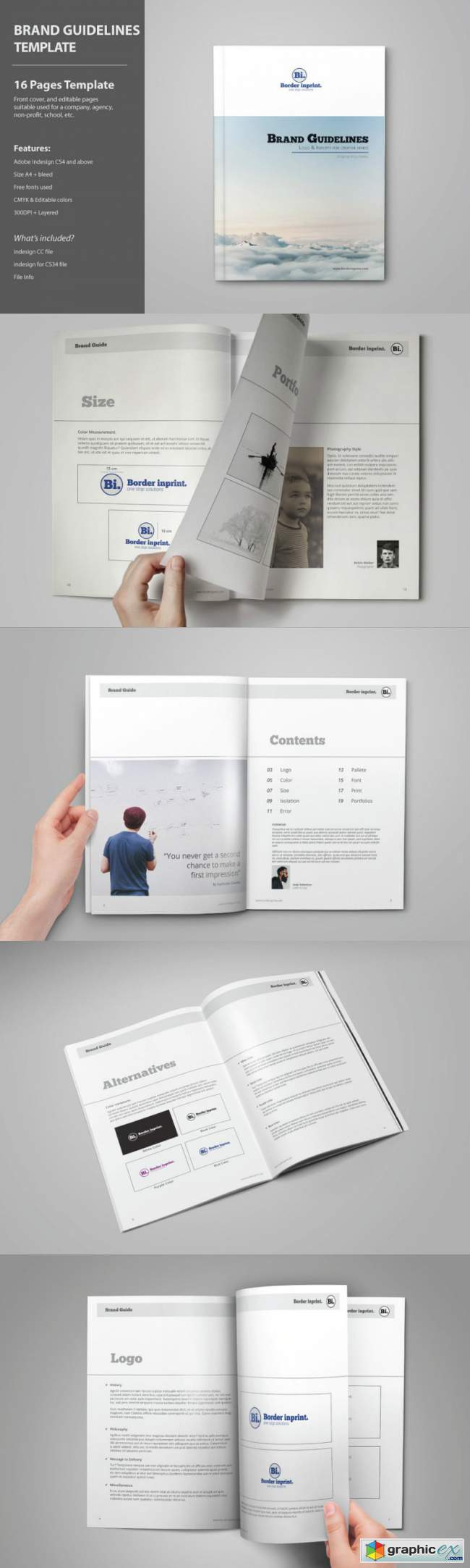 Brand Guidelines Template 3806084