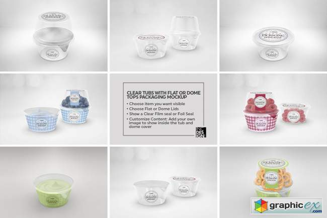 09 Clear Container Packaging Mockups