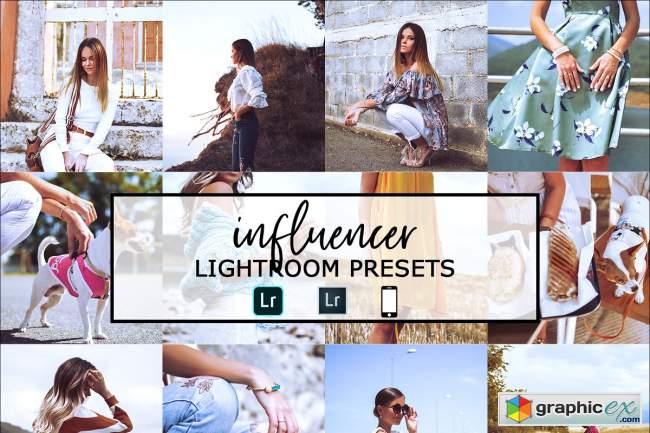 Influencer Lightroom Presets