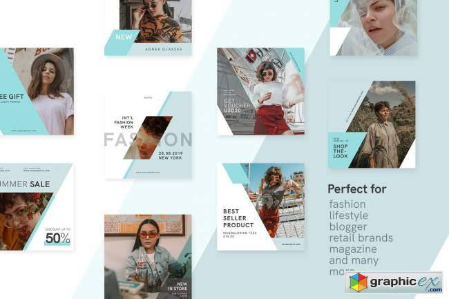 Fashionista Instagram Bundle