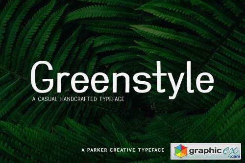 Greenstyle Casual Humanist Font » Free Download Vector Stock
