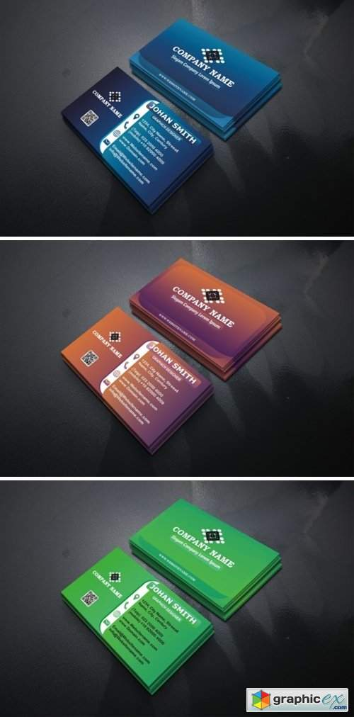 Modern Business Cards Template 1565827
